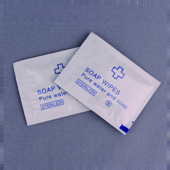 Soap wipes